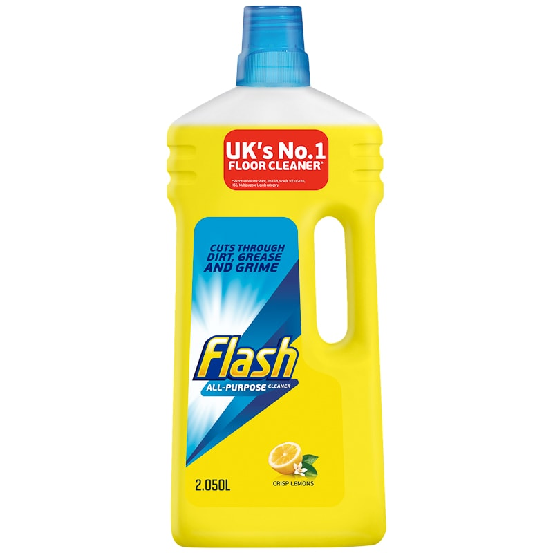 Flash All Purpose Cleaner 2 05l Lemon In 2020 Cleaning All Purpose Cleaners Floor Cleaner