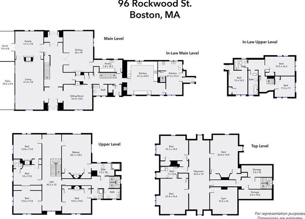 96 rockwood st boston ma 02130 228 in 2019 maine