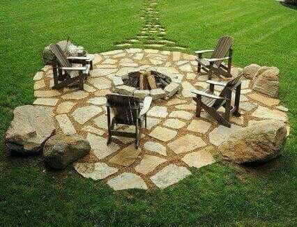 Leiklip boma | Garden fire pit, Fire pit backyard, Fire ... on Boma Ideas For Small Gardens id=92041