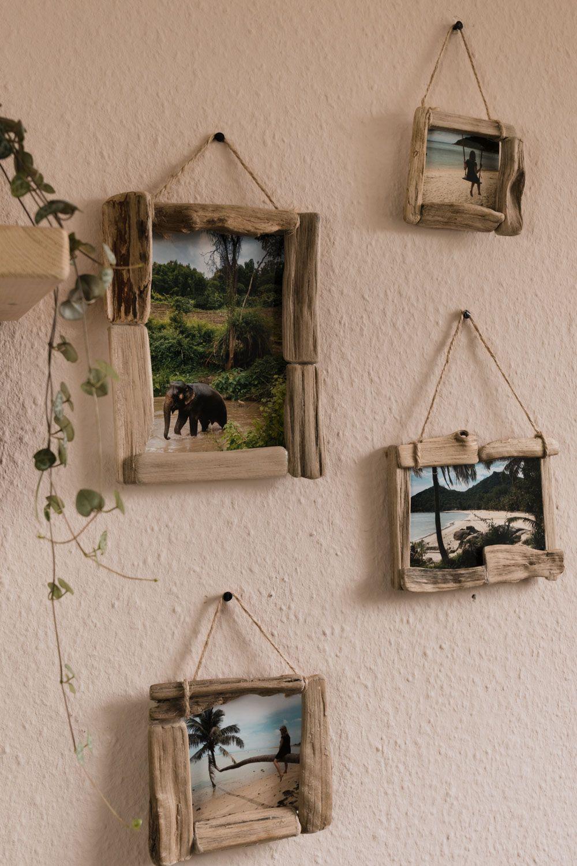 Photo of DIY • Bilderrahmen aus Treibholz selber basteln – Deko Idee mit Fotos