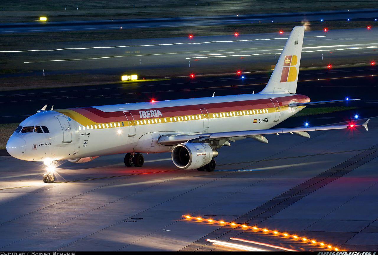 Airbus A321211 Iberia Aviation Photo 4074193