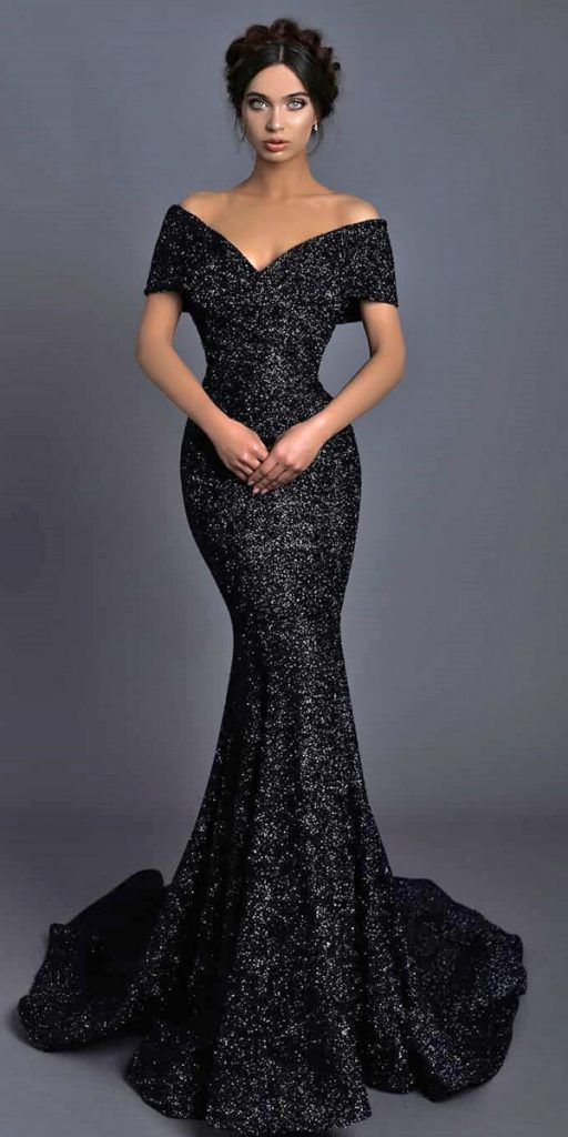 33 Beautiful Black Wedding Dresses That Will Strike Your Fancy