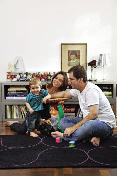 Cor, arte e alegria no apartamento curitibano - Casa