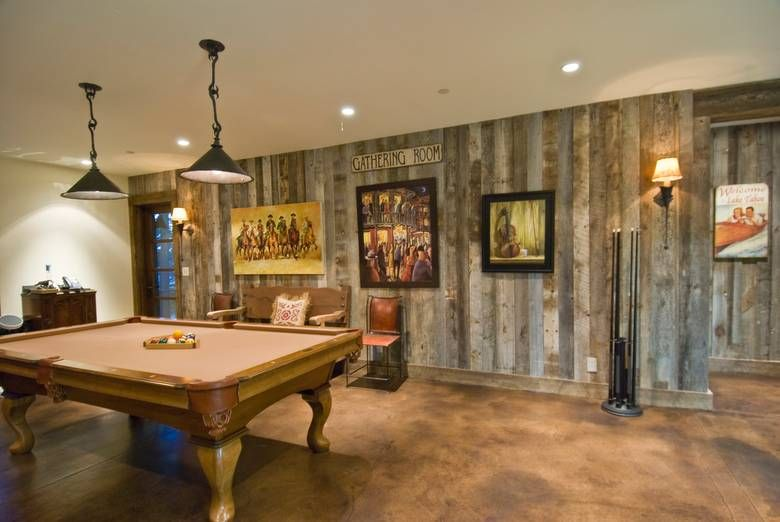 Gray Barnwood Siding In Basement Home Sweet Home