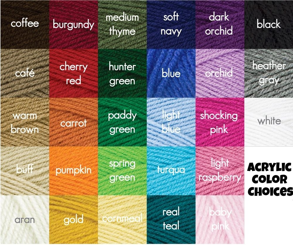 red heart yarn color chart - Google Search | YARN N TOOLS ...