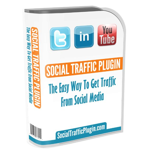 Get more traffic from Social Media to your Wordpress blog with this simple to install Wordpress plugin.  Sign up at http://socialtrafficplugin.com