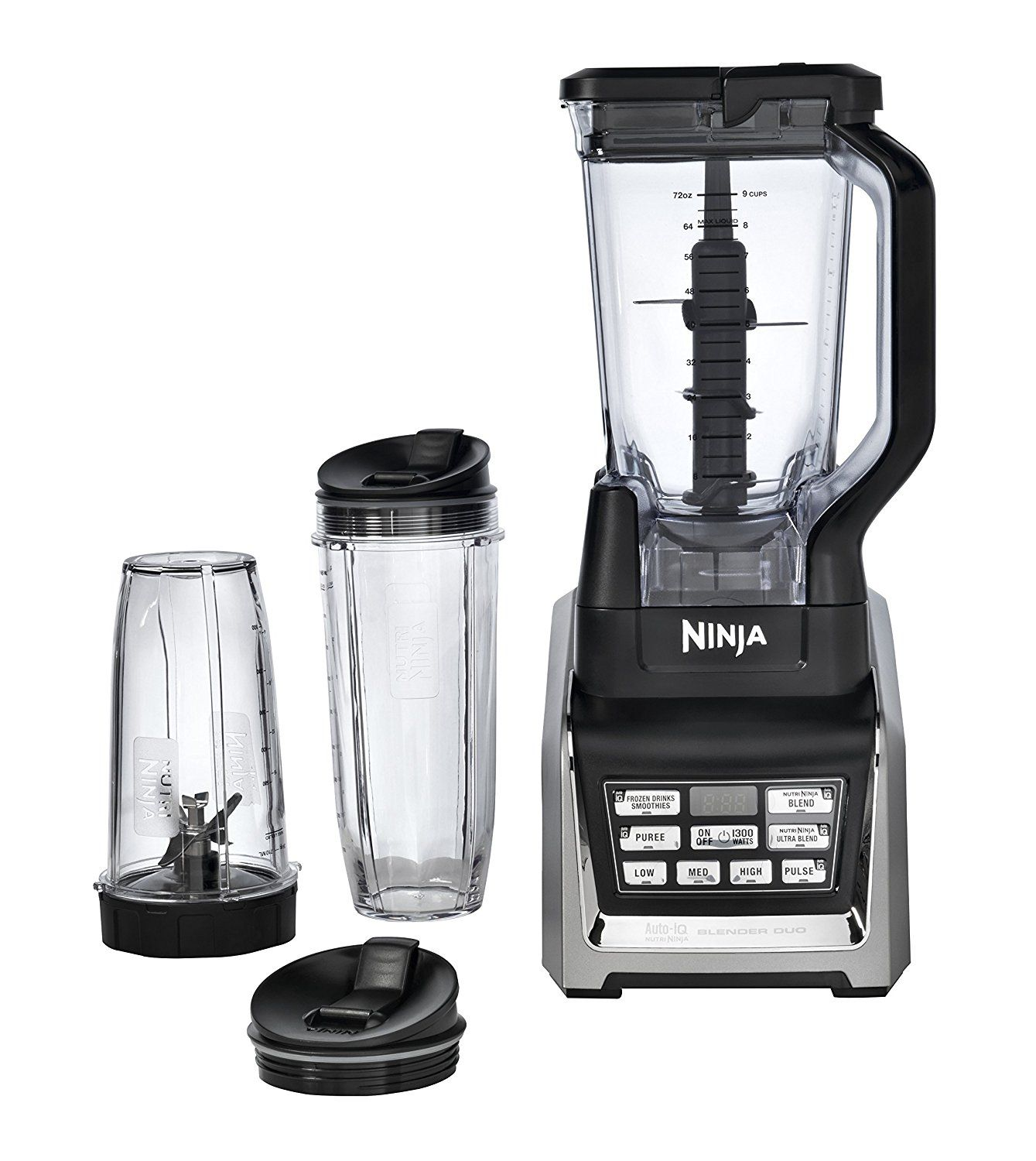 Nutri Ninja Blender Duo with Auto-iQ (BL641) >>> Want to know more ...