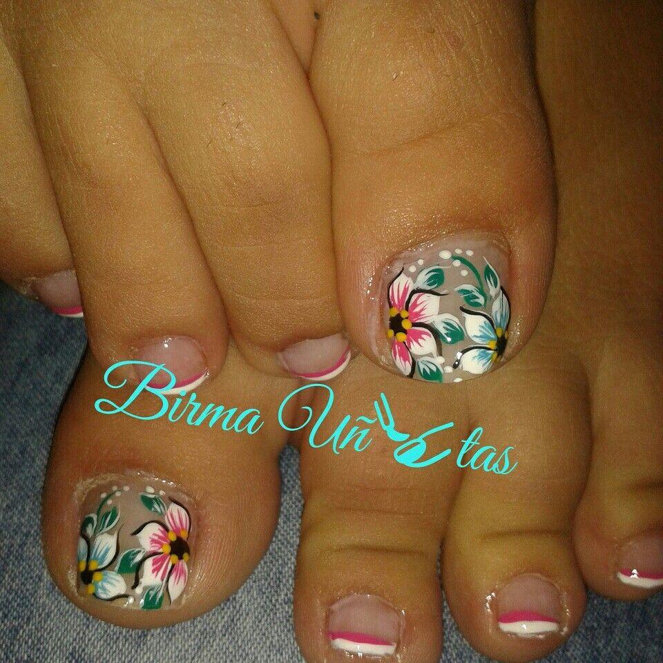 Birma u itas mis u as u as u as pies y dise os de u as - Unas de pies decoradas ...