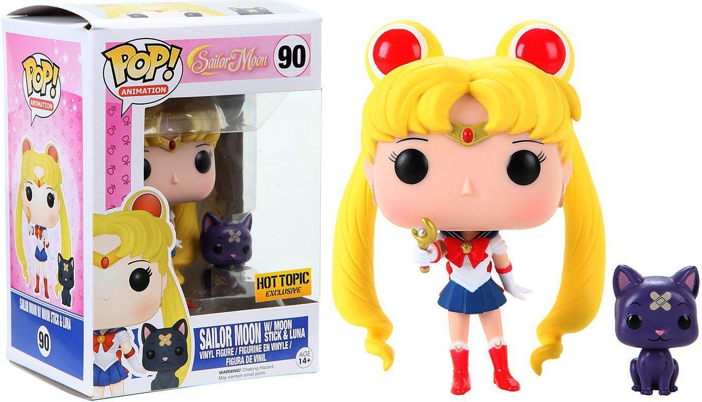 Funko Pop! Animation Sailor Moon 90 with Moon