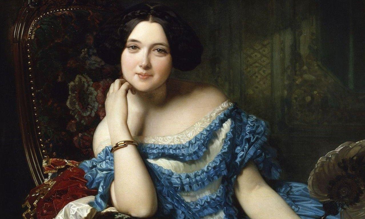 Amalia de Llano y Dotres, Countess of Vilches (1853), Federico de Madrazo