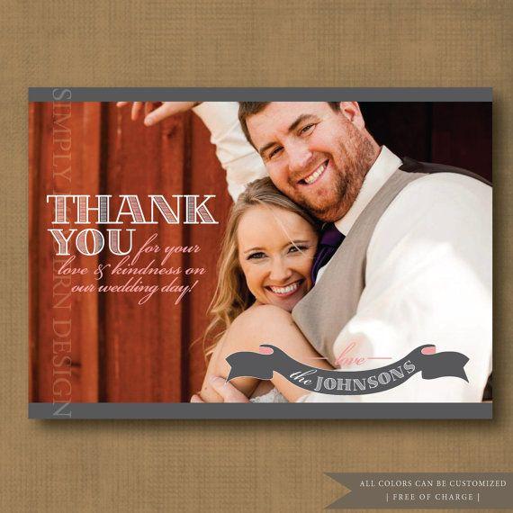 Kiitoskortti suoraan omasta kuvasta. Kivoilla fonteilla kokonaisuudesta tulee viimeistelty!
