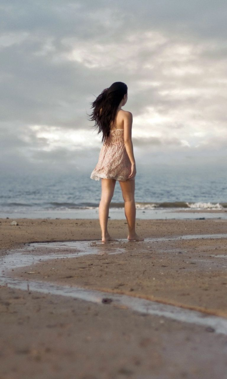 girl-walking-on-beach-768x1280 768 x 1280 wallpapers available for