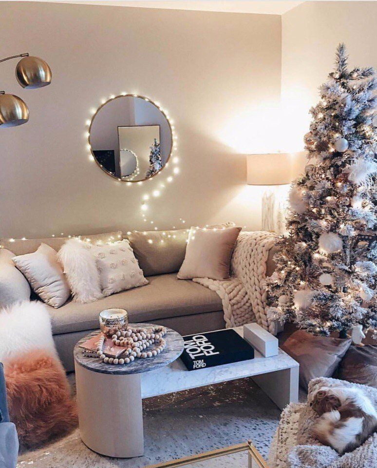 New Year Mood We Decorate The House For The Holidays Winter