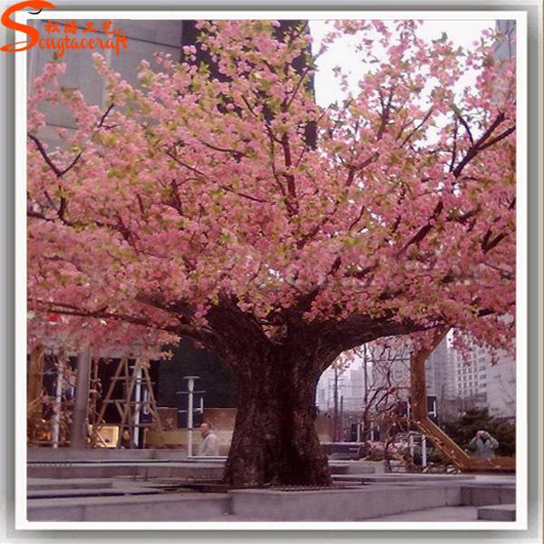 Source 5meter High Huge Artificial Sakura Tree Plastic Tree Branches Silk Cherry Trees On M Alibaba Com Artificial Cherry Blossom Tree Tree Sakura Tree