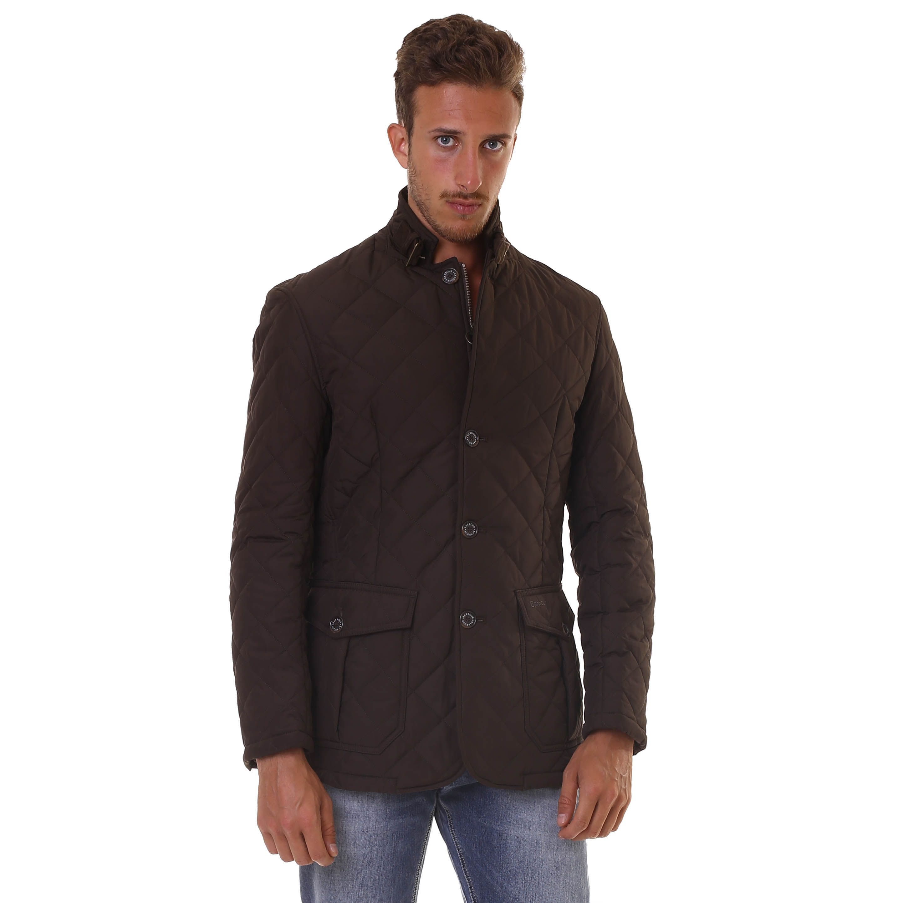 BARBOUR QUILTED LUTZ JACKET OL51 (con immagini) Giacca