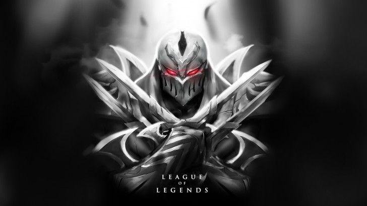 League Of Legends Zed Wallpaepr Ninja Hd Wacalac 1920 League Of Legends Champions League Of Legends Lol League Of Legends