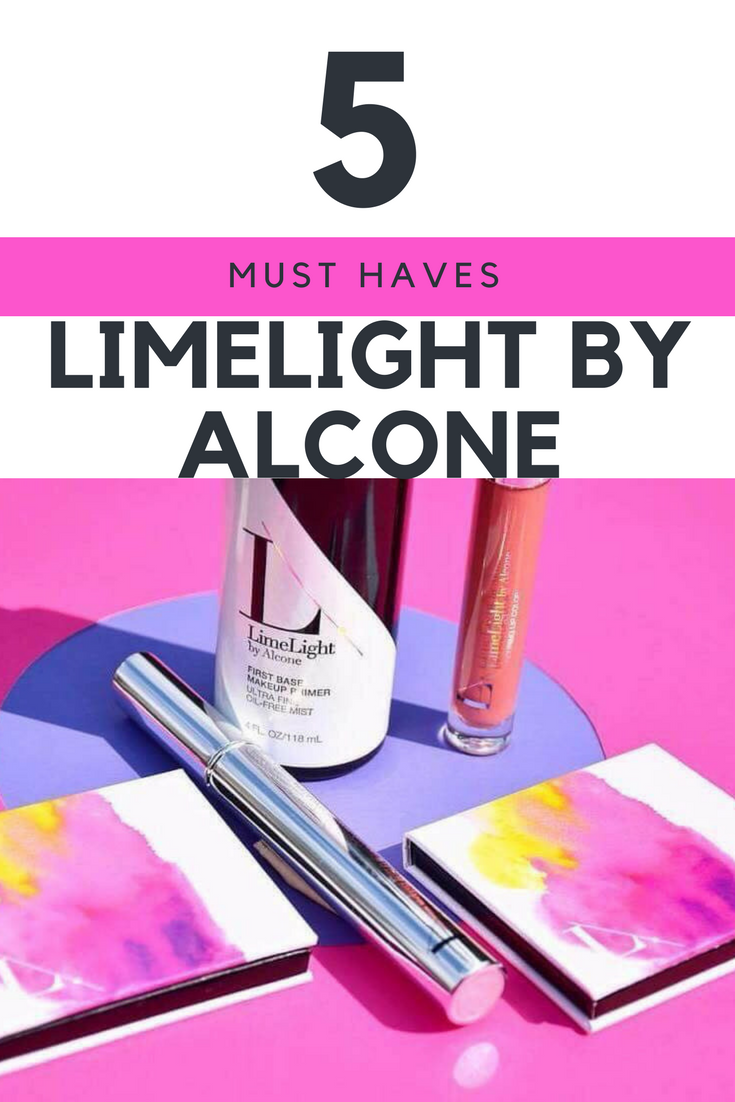 my MUST HAVE products from LimeLife by Alcone that you