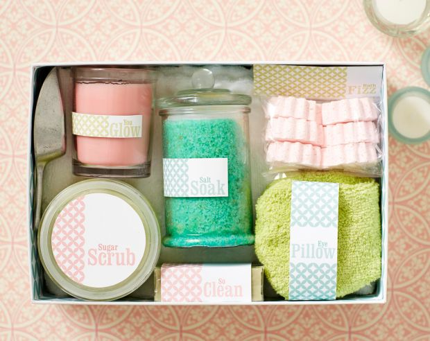Spa Day In A Box By Make It Yourself Great Idea To Take All The