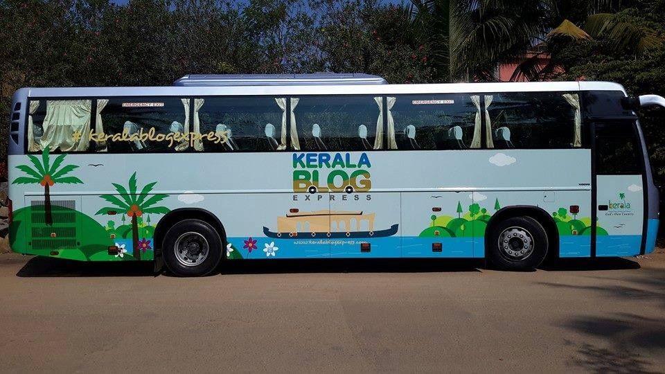 #KeralaBlogExpress Touring Bus