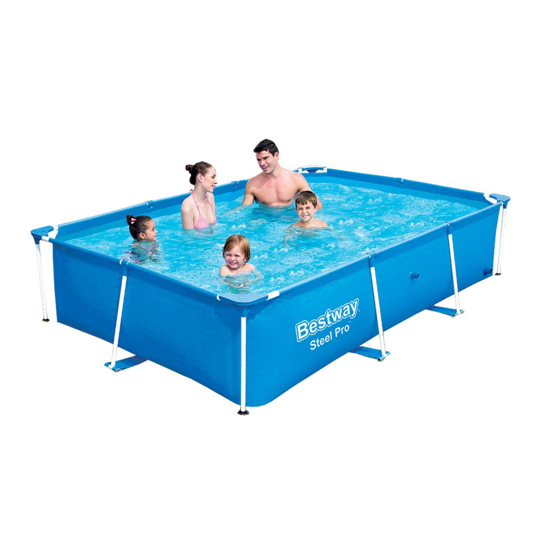 Bestway 2 59 X 1 7m X 61cm Deluxe Splash Jr Frame Pool Swimming