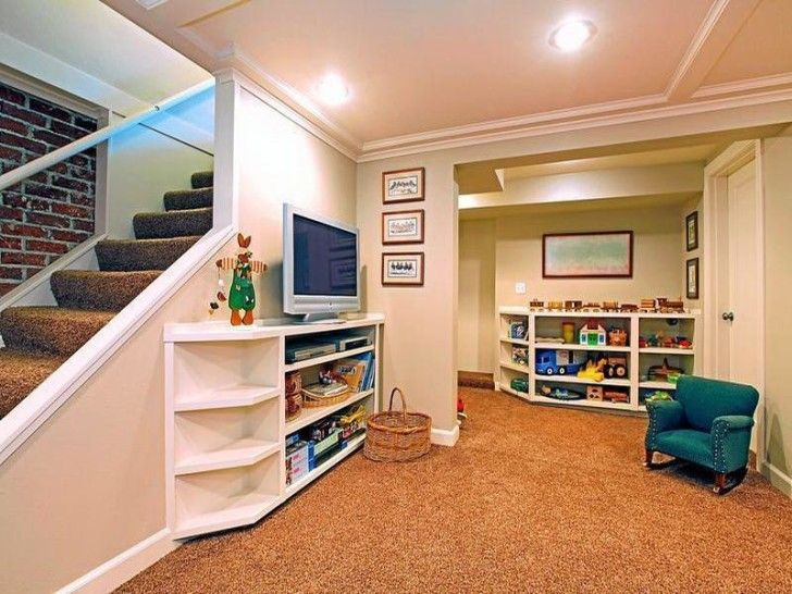 Using Small Basement Remodeling Ideas To Create An Amazing Basement:  Fantastic Basement Rooms Storage Ideas ~ Workdon.com Interior Design  Inspiration