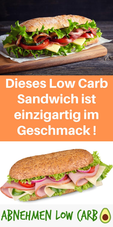 Super leckeres Low Carb Sandwich für Zwischendurch! Mega einfach und schnell gemacht!