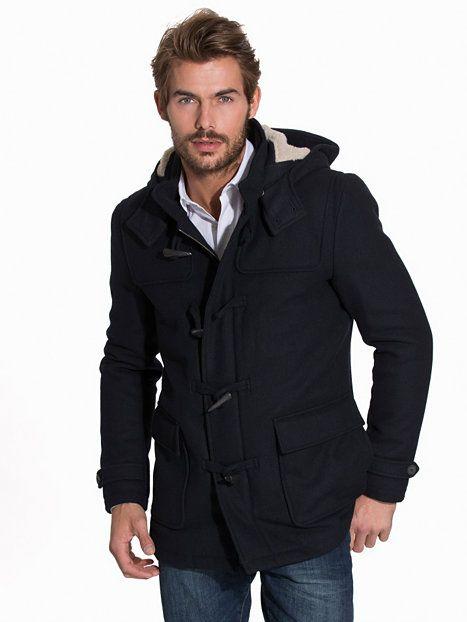 b9c0a213 Shcarlyle Duffel Coat Teddy H - Selected Homme - Mörk Blå - Jackor - Kläder  - Man - NlyMan.com