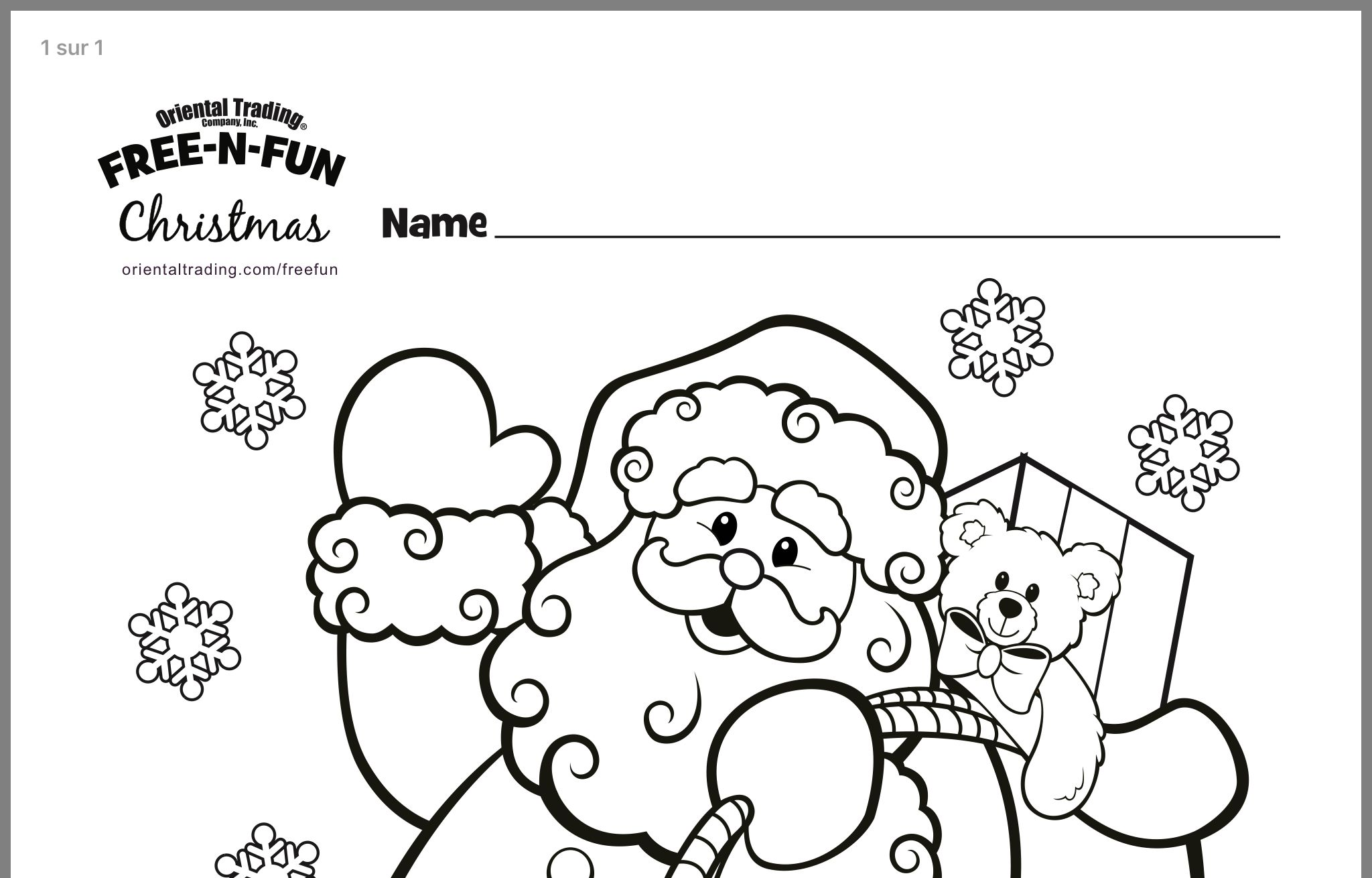 Pin By Simply Sweet Home On Christmas Color Sheets And Activities Santa Coloring Pages Christmas Colors Christmas Names