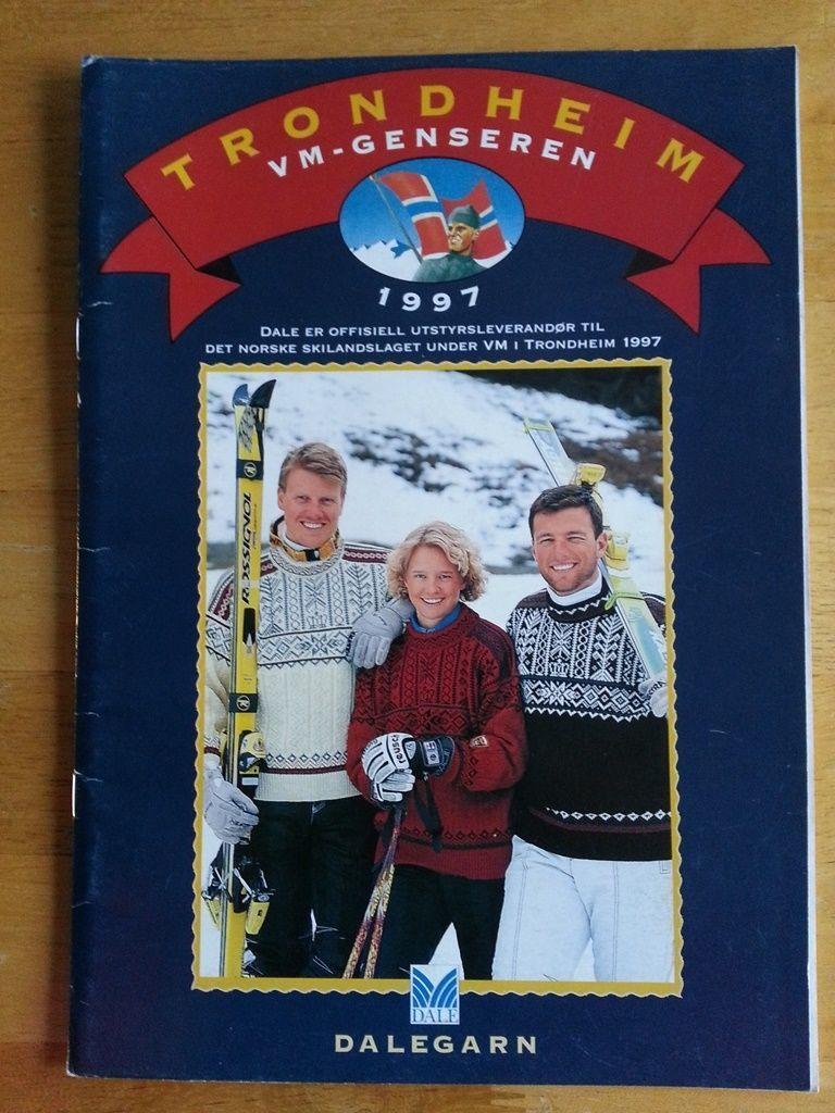Dale of Norway OOP - TRONDHEIM 1997 knitting pattern book | Pinterest