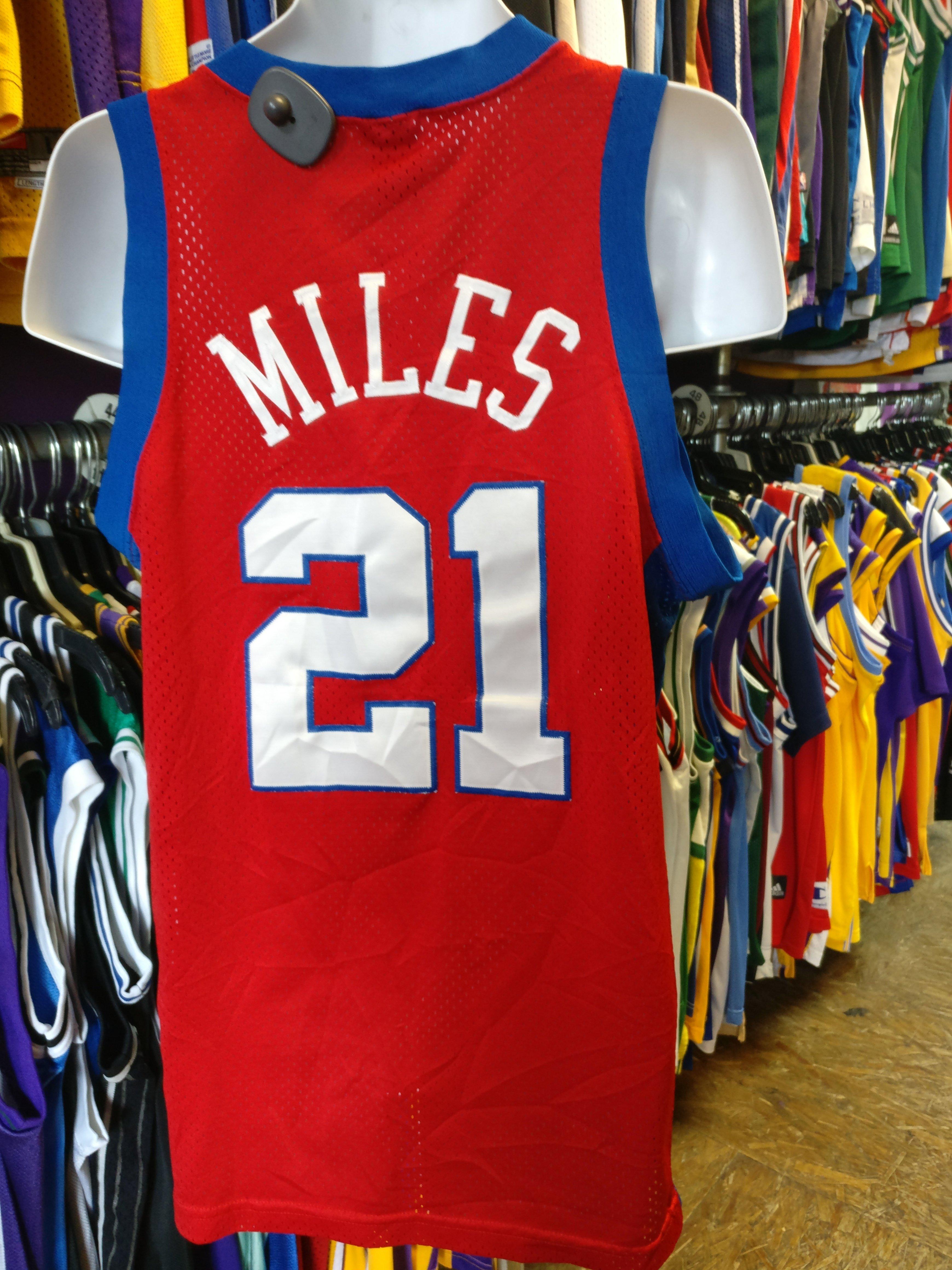 52fff9a5195 Vintage #21 DARIUS MILES Los Angeles Clippers NBA Nike Jersey M | shop @  XL3VintageClothing.net | Los Angeles Clippers, NBA, Nike