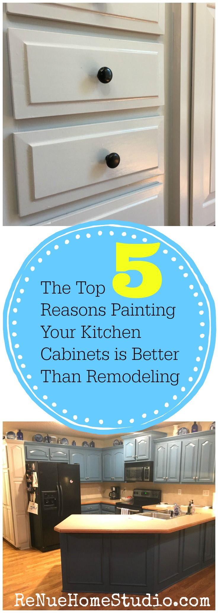 We\'ll give you the Top 5 Reasons why Painting Your Kitchen Cabinets ...