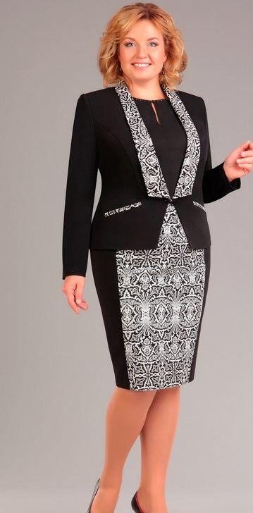 mönster klänning stora storlekar