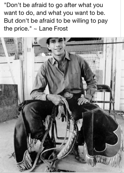 Lane Frost Quotes Fascinating Lane Frost Quote Humor And Inspiration Pinterest Lane Frost