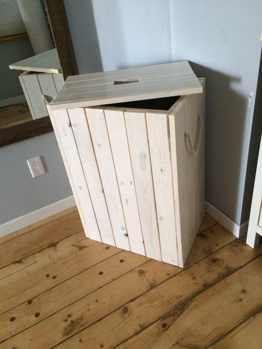 panier a linge facilement r alisable bathroom en. Black Bedroom Furniture Sets. Home Design Ideas