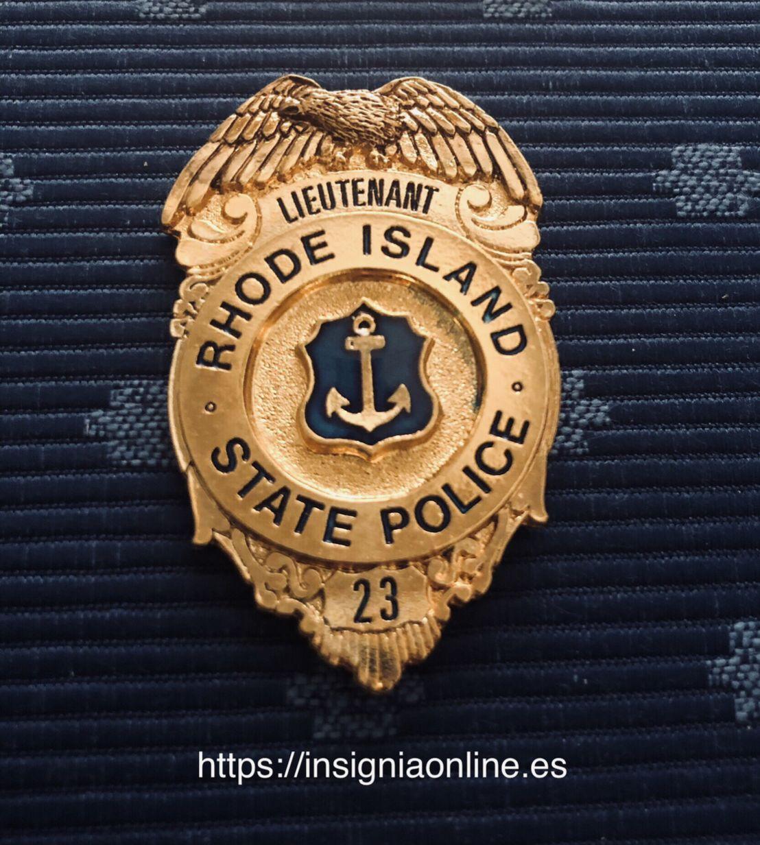 Rhode Island State Police Badge Police Badge Police Badge