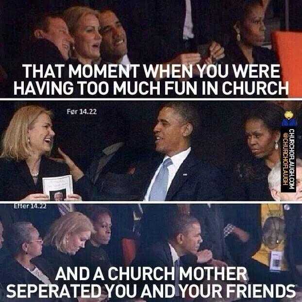 No joking around at the funeral
