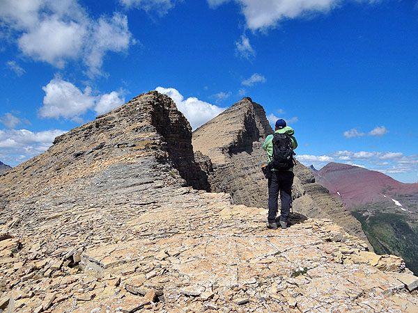 Mt Henkel and Crowfeet Mtn