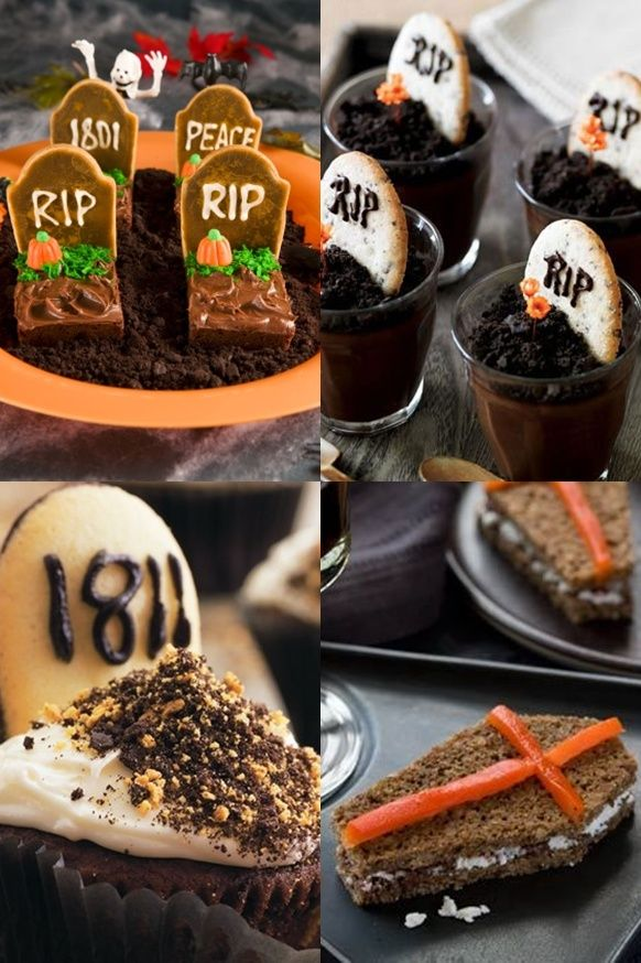 Pop Culture And Fashion Magic Easy Halloween food ideas - desserts - cheap halloween food ideas