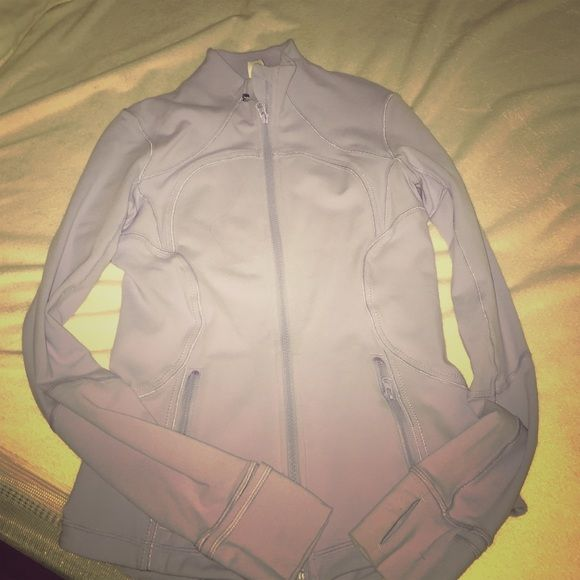 Lululemon jacket Beautiful Lululemon Jacket !! Nice color !  It's too snug for me and I worn it just two times . No trade ins . Thank you lululemon athletica Jackets & Coats