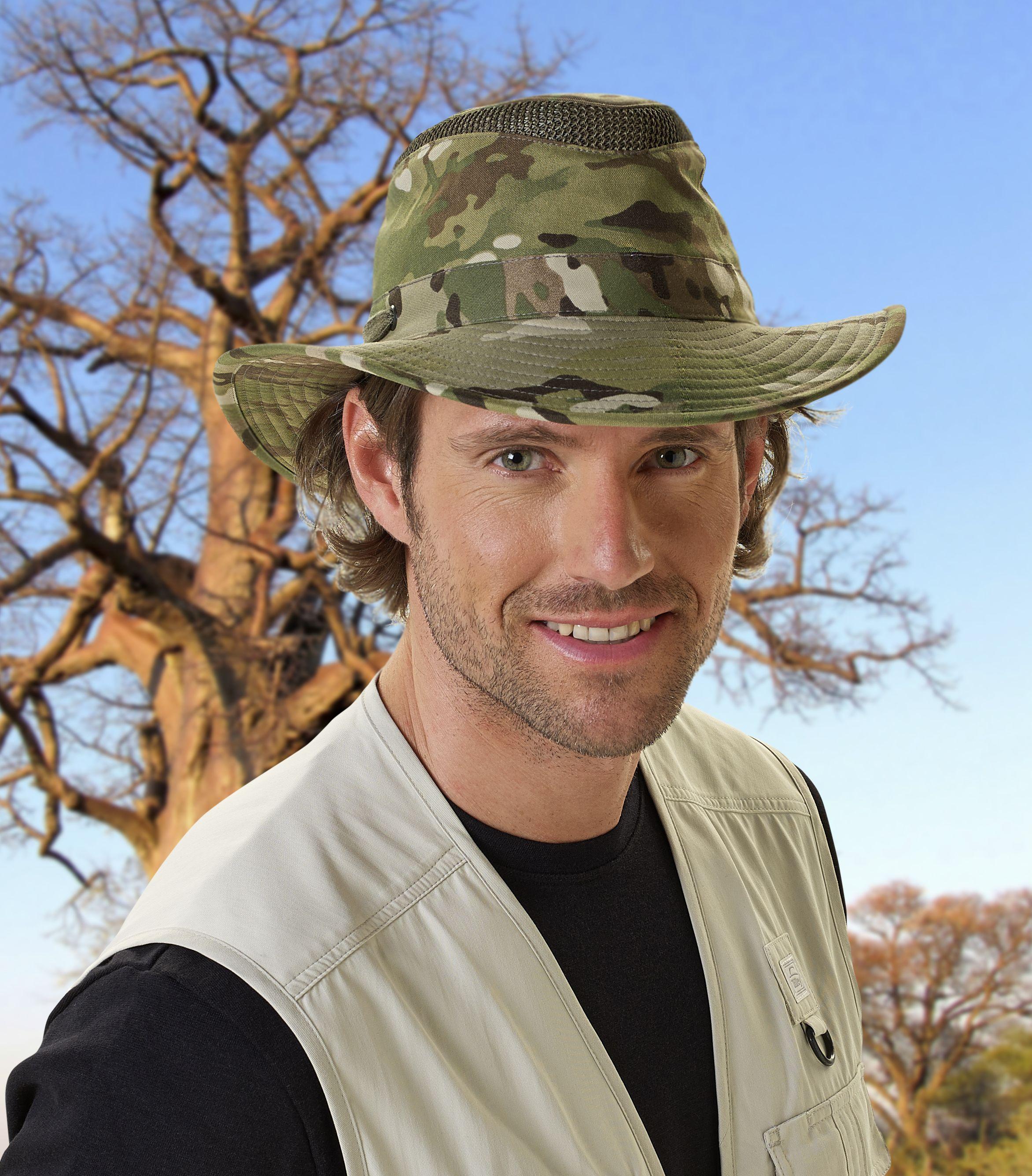 f5aa6424e0ae1f Camouflage yourself with the Tilley LTM6 in camo print. Safari Hat, Camo  Print,