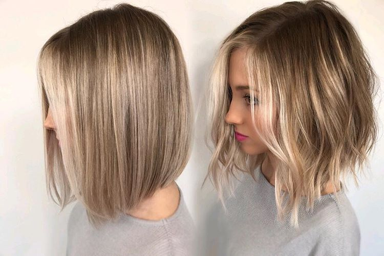 Straight Vs Wavy What S Your Favorite Behindthechair Modernsalon Americansalon Donaldscott Licencet Thick Hair Styles Hair Styles Short Hair Styles
