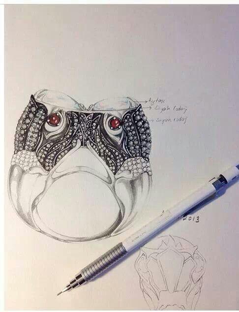 Lezahmedre Jewellery sketch