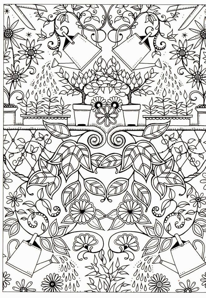 By JOHANNA BASFORD, from Secret Garden | Cuadernos De Dibujo ...