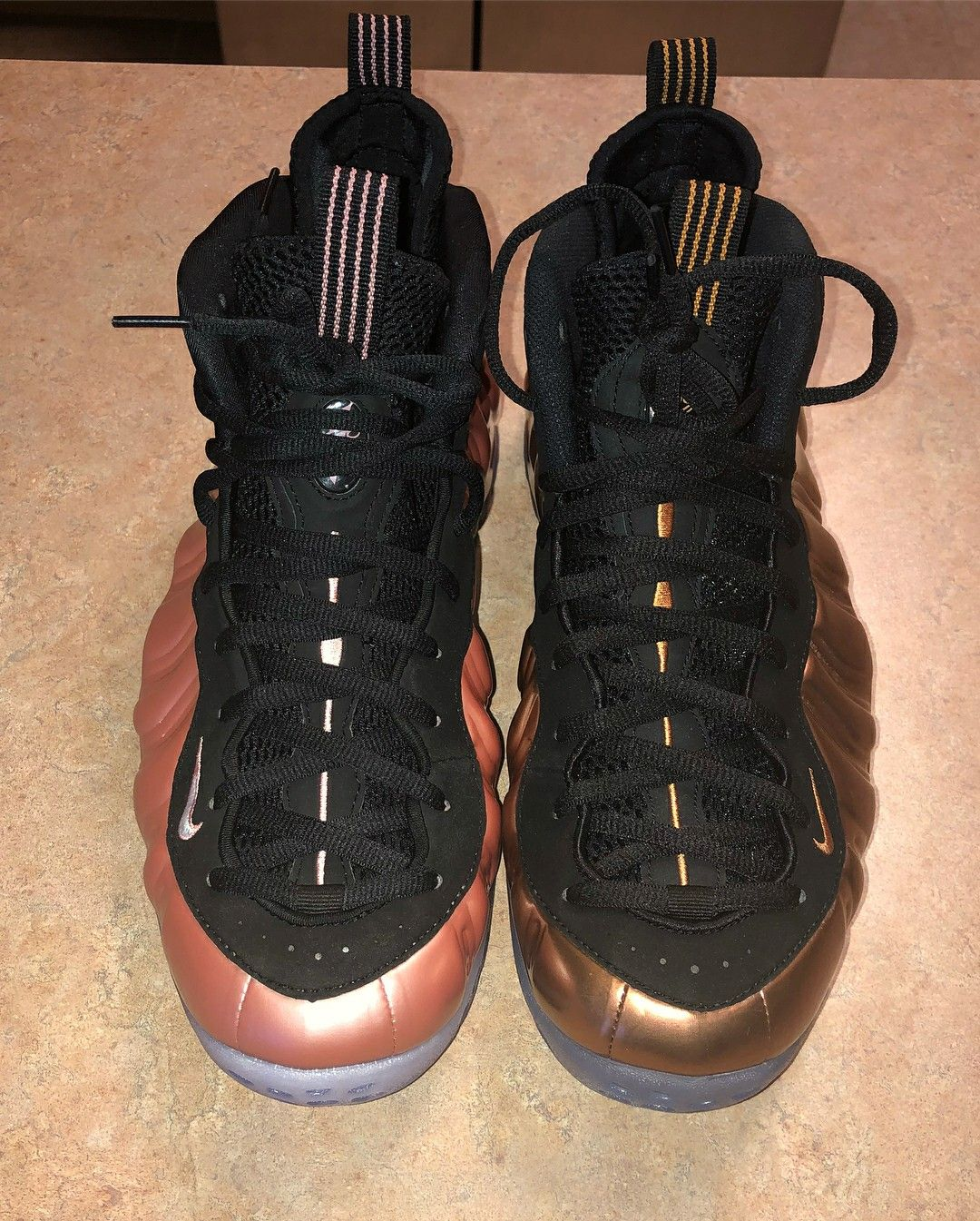 buy popular de2fa 657c2 Elemental Rose vs Copper Foamposite.