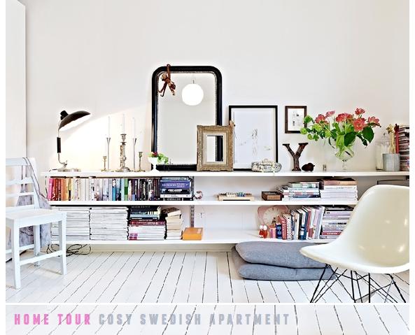 Living room storage... open shelves | Living room | Pinterest ...
