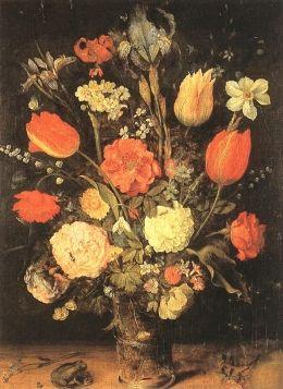 Jan The Elder Brueghel :Flowers
