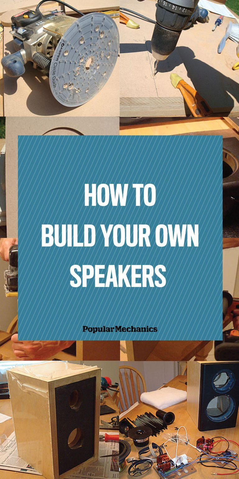 How to Build Your Own Speakers | Diy Audio | Diy bluetooth speaker