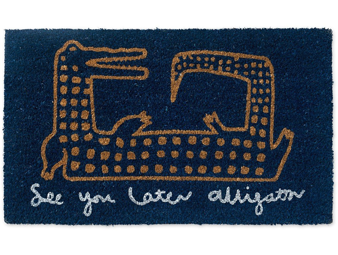 See You Later Alligator Doormat