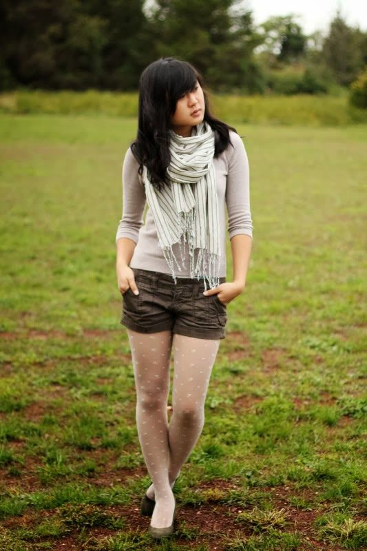 JennifHsieh: Remix: How to Wear White Tights