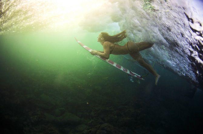 Surfing: Micah Camara